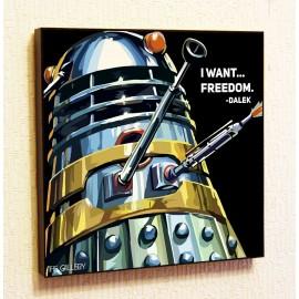 Картина постер в стиле поп-арт Далек