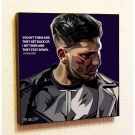 Картина постер в стиле поп-арт Каратель