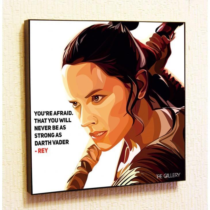 Картина постер в стиле поп-арт Рэй