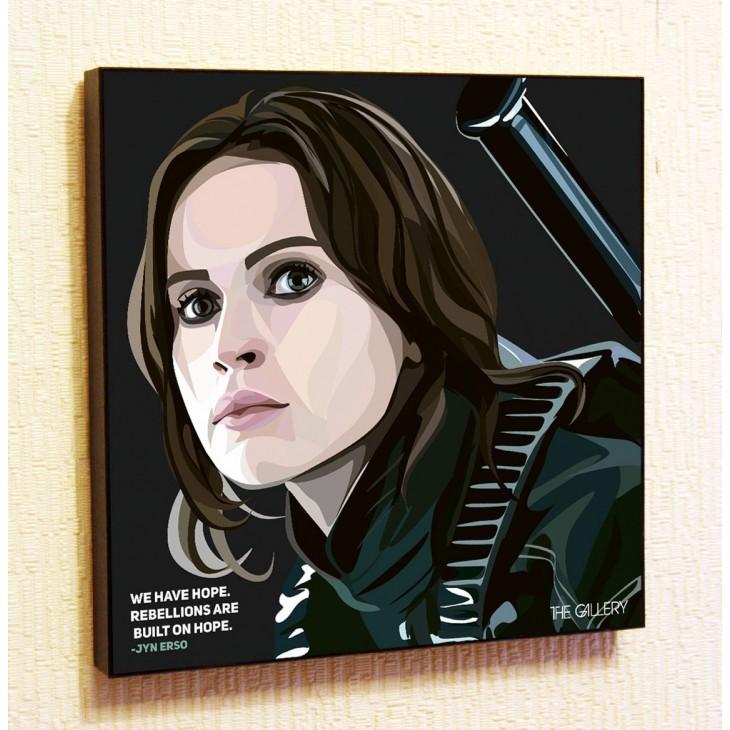 Картина постер в стиле поп-арт Джин Эрсо