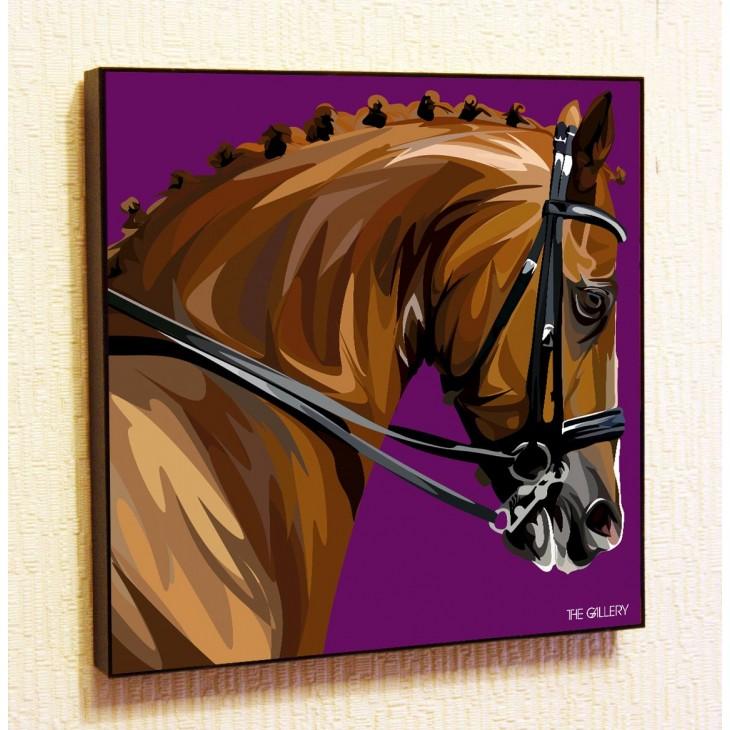 Картина постер в стиле поп-арт Лошадь