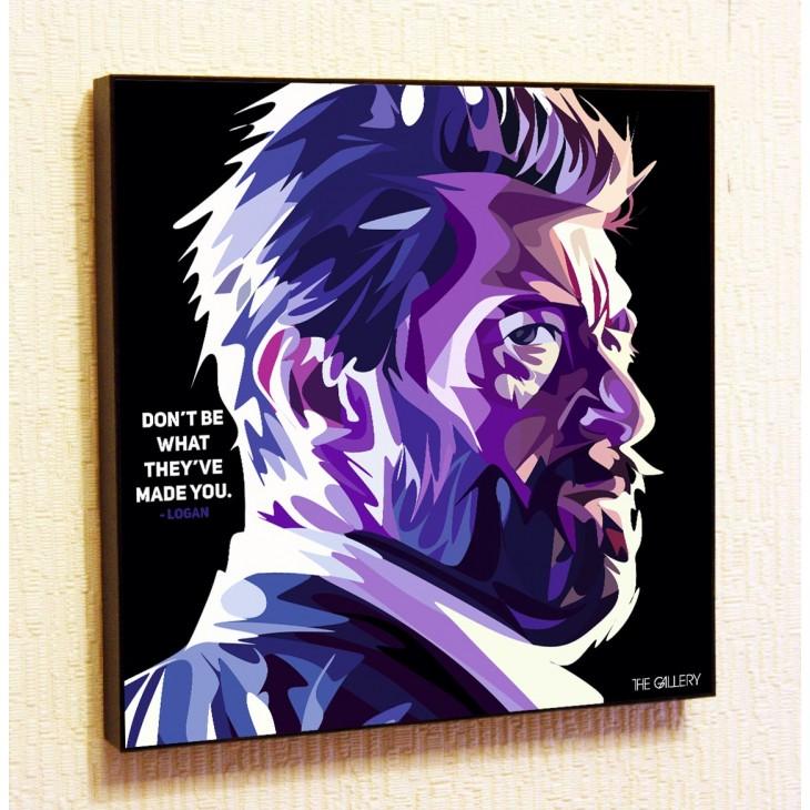 Картина постер в стиле поп-арт Логан