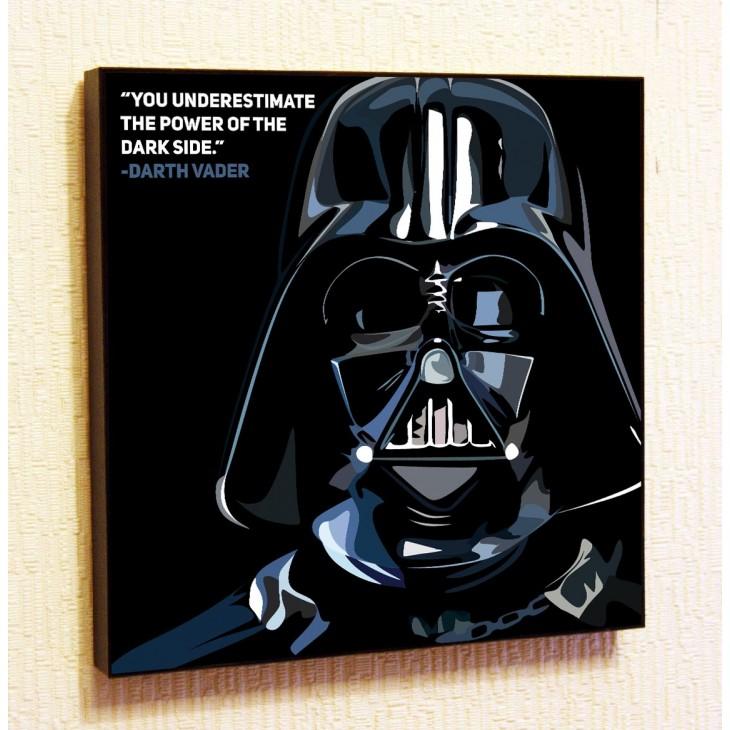 Картина постер в стиле поп-арт Дарт Вейдер 2