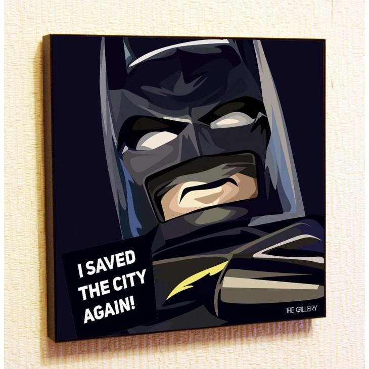 Картина постер в стиле поп-арт Бэтмен Лего