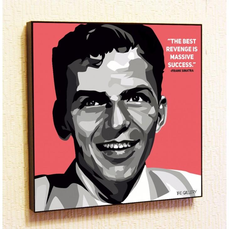 Картина постер в стиле поп-арт Фрэнк Синатра