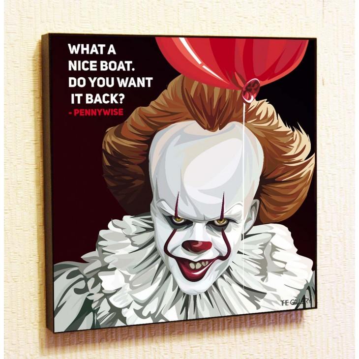Картина постер в стиле поп-арт Пеннивайз