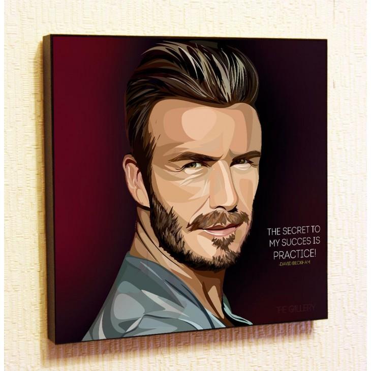 Картина постер в стиле поп-арт Дэвид Бекхэм