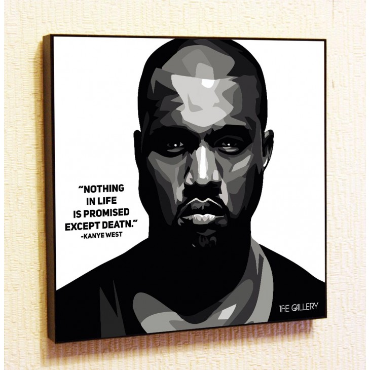 Картина постер в стиле поп-арт  Кани Вест