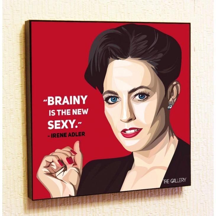 Картина постер в стиле поп-арт Ирэн Адлер (Шерлок)