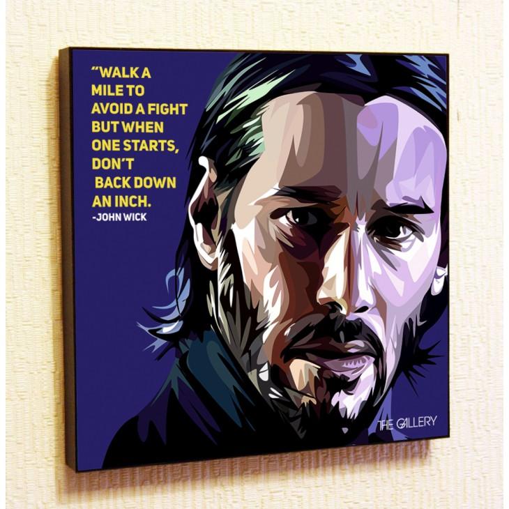 Картина постер в стиле поп-арт Джон Уик