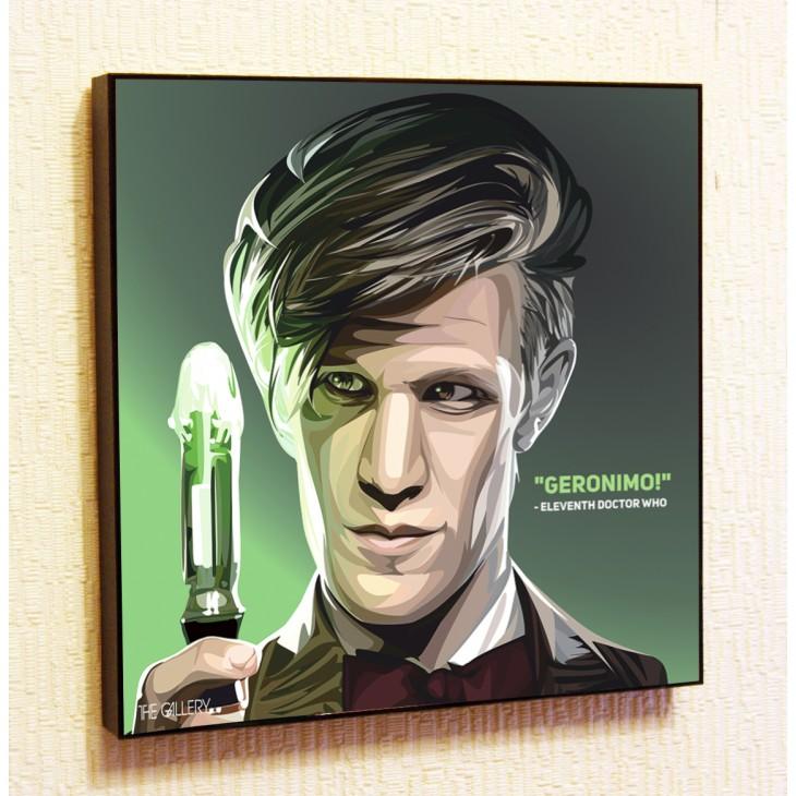 Картина постер в стиле поп-арт Двенадцатый Доктор