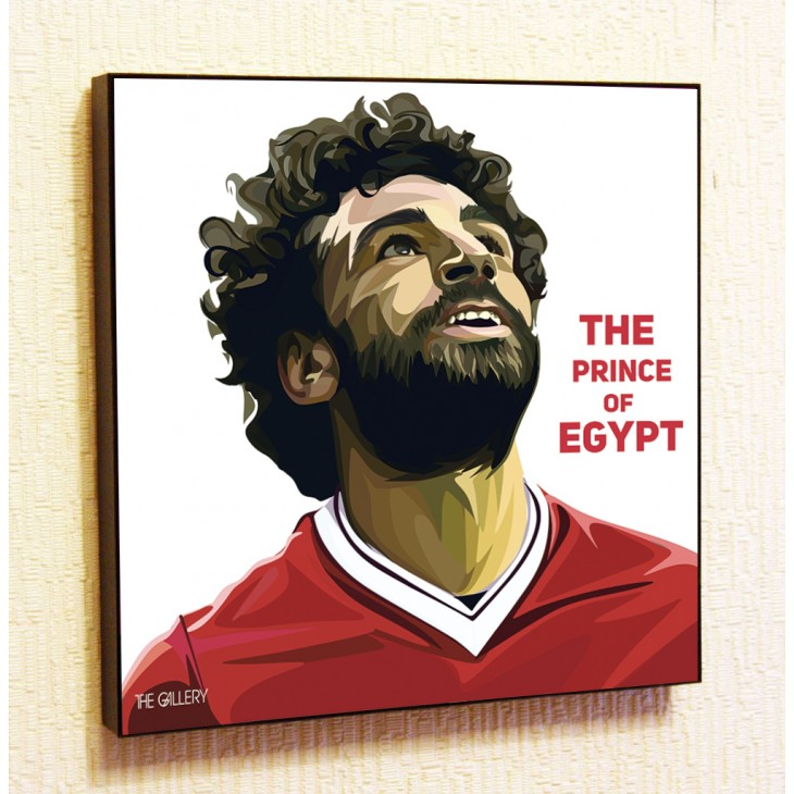 Картина постер в стиле поп-арт Мохаммед Салах