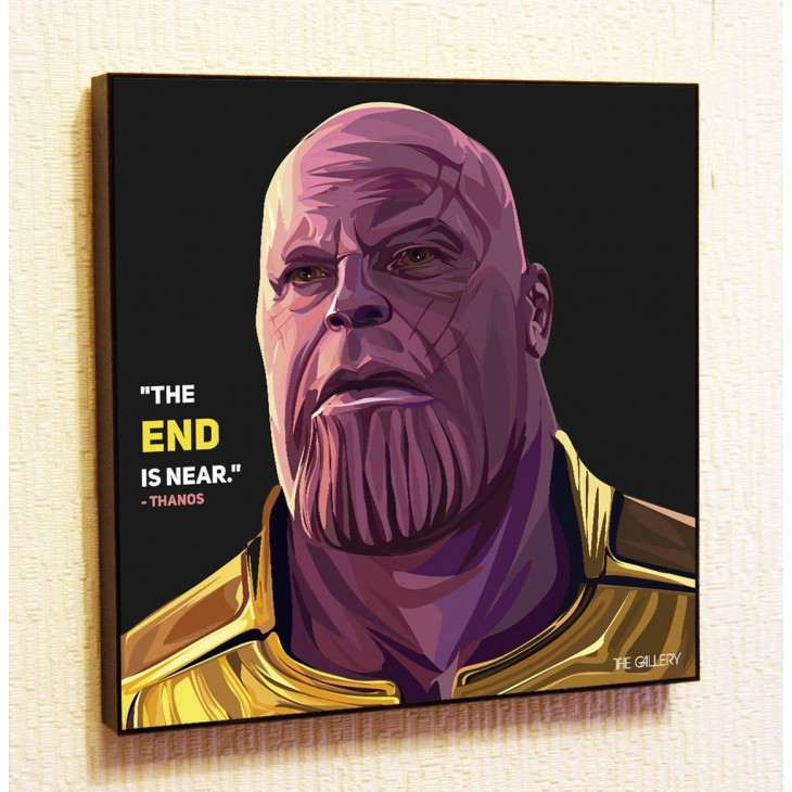 Картина постер в стиле поп-арт Танос