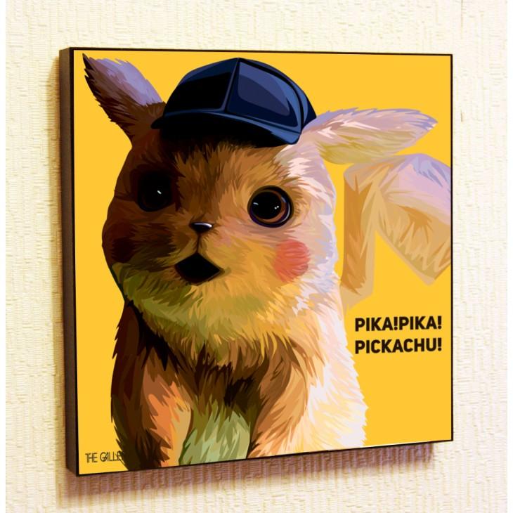 Картина постер в стиле поп-арт Пикачу