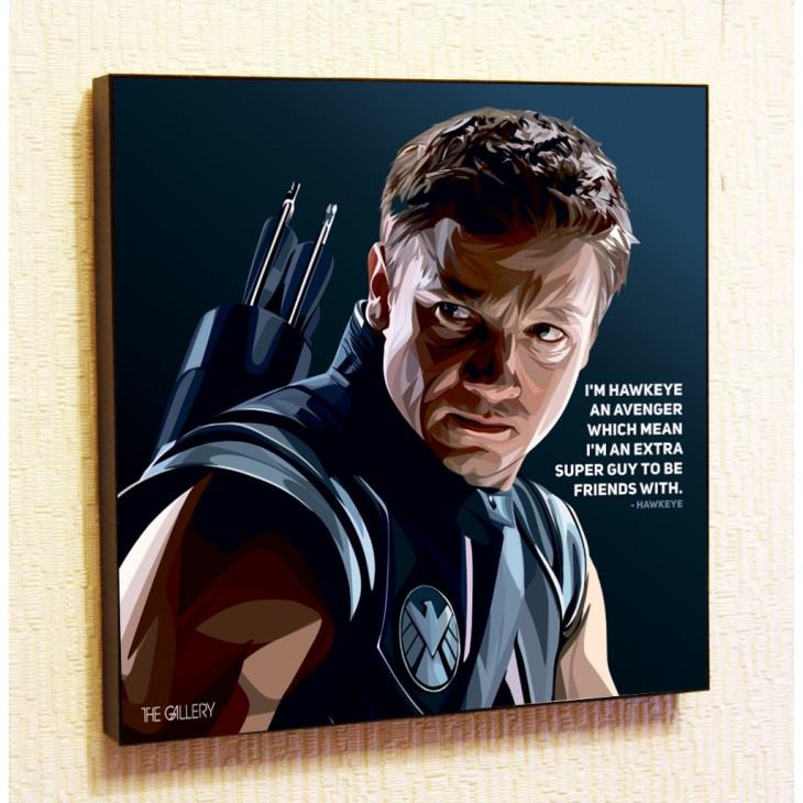 Картина постер в стиле поп-арт Супермен 2