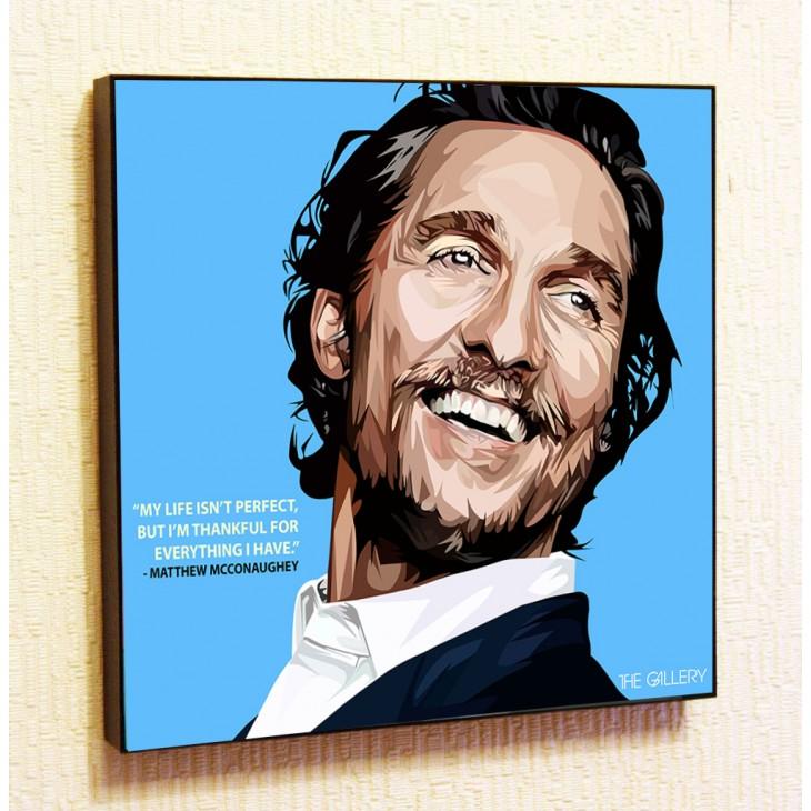 Картина постер в стиле поп-арт Мэттью МакКонахи