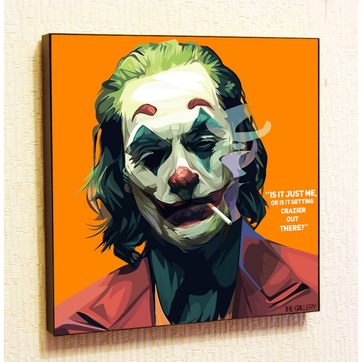Картина постер в стиле поп-арт  Джокер 4