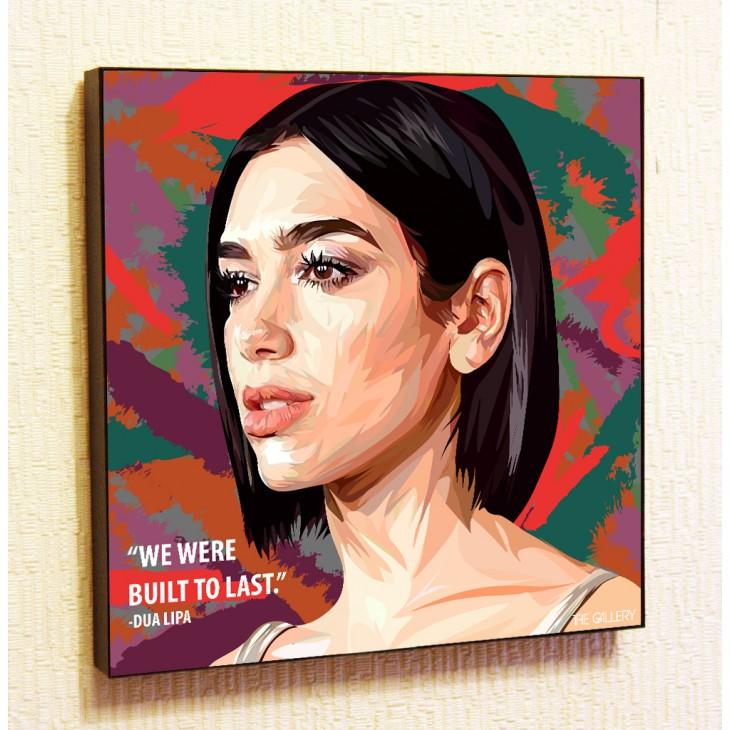 Картина постер в стиле поп-арт Дуа Липа
