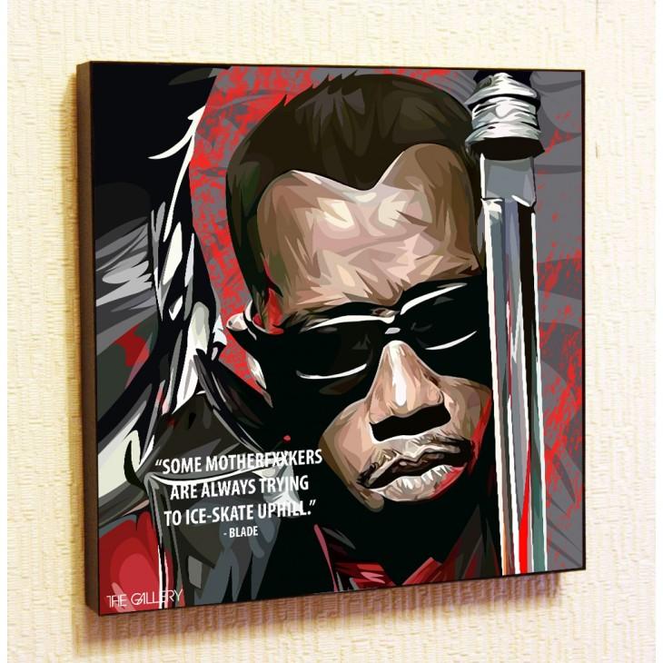 Картина постер в стиле поп-арт Блэйд
