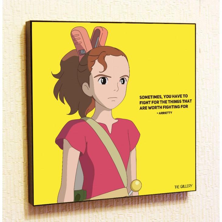 Картина постер в стиле поп-артАриэтти из страны лилипутов