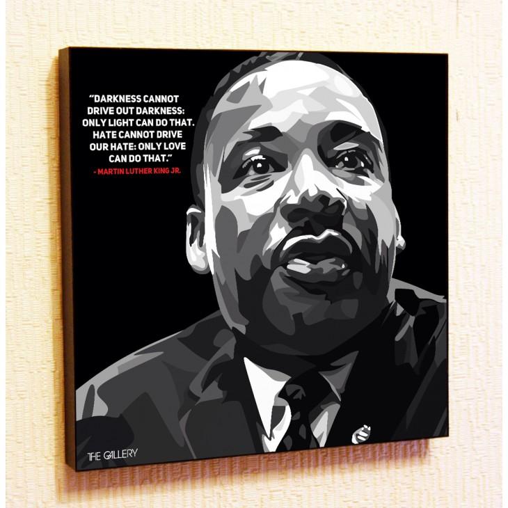 Картина постер в стиле поп-арт Мартин Лютер Кинг