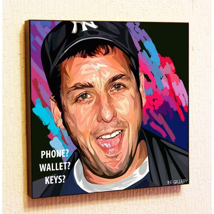 Картина постер в стиле поп-арт Адам Сэндлер