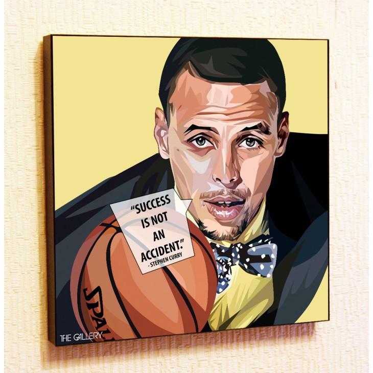 Картина постер в стиле поп-арт Стефен Карри баскетбол