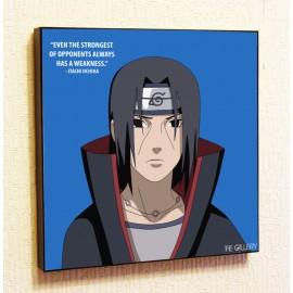 Картина постер в стиле поп-арт Наруто Узумаки Итачи Учиха