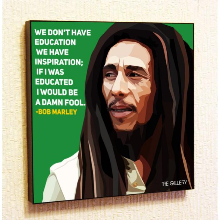Картина постер в стиле поп-арт Боб Марли