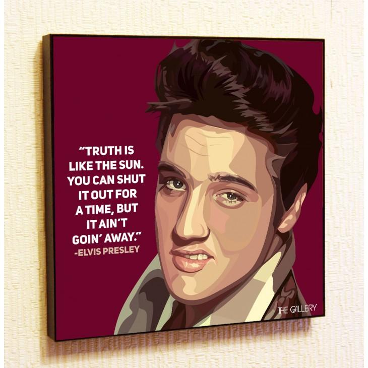 Картина постер в стиле поп-арт Элвис Пресли