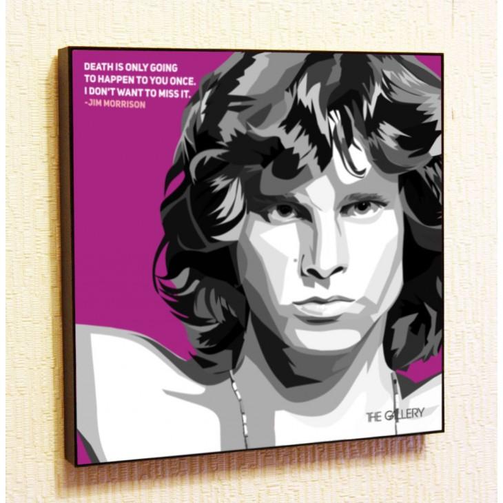 Картина постер в стиле поп-арт Джим Моррисон