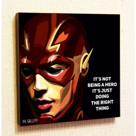 Картина постер в стиле поп-арт Флэш