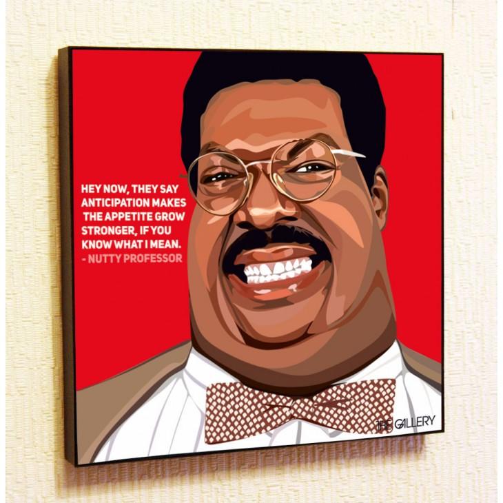 Картина постер в стиле поп-арт Чокнутый профессор