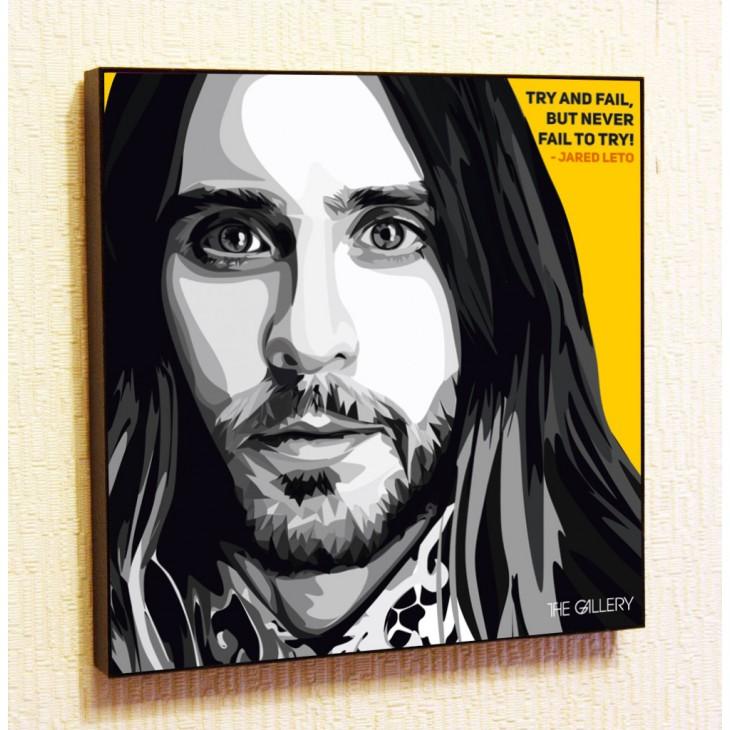 Картина постер в стиле поп-арт Джаред Лето