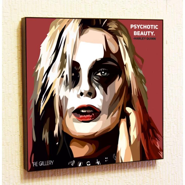 Картина постер в стиле поп-арт Харли Квинн