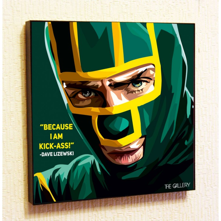 Картина постер в стиле поп-арт Пипец (Дэйв Лизевски)