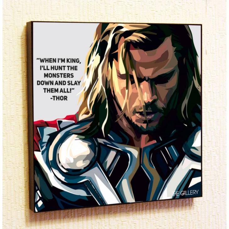 Картина постер в стиле поп-арт Тор 2