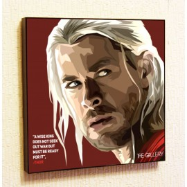 Картина постер в стиле поп-арт Тор