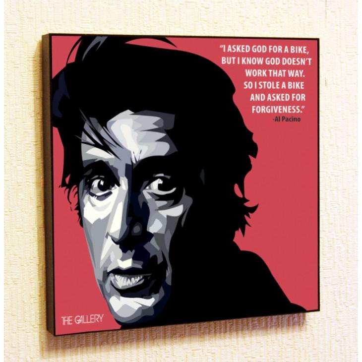 Картина постер в стиле поп-арт Аль Пачино