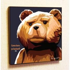 Картина постер в стиле поп-арт Тед