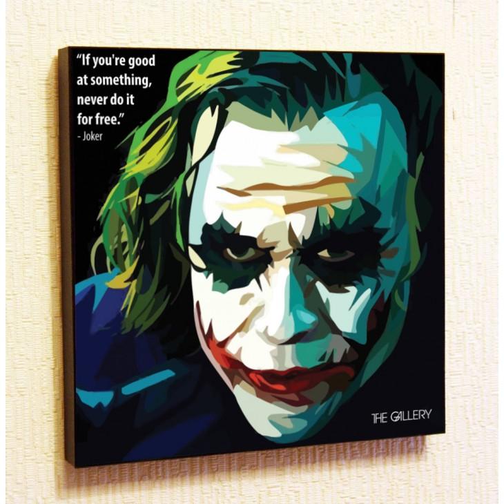 Картина постер в стиле поп-арт  Джокер