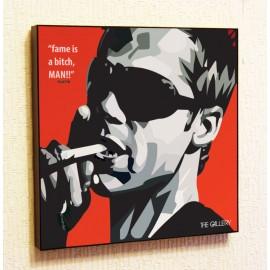 Картина постер в стиле поп-арт Брэд Питт