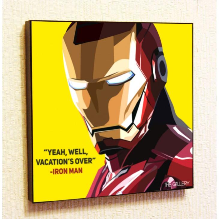 Картина постер в стиле поп-арт  Железный человек