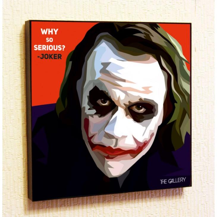 Картина постер в стиле поп-арт  Джокер (Хит Леджер)