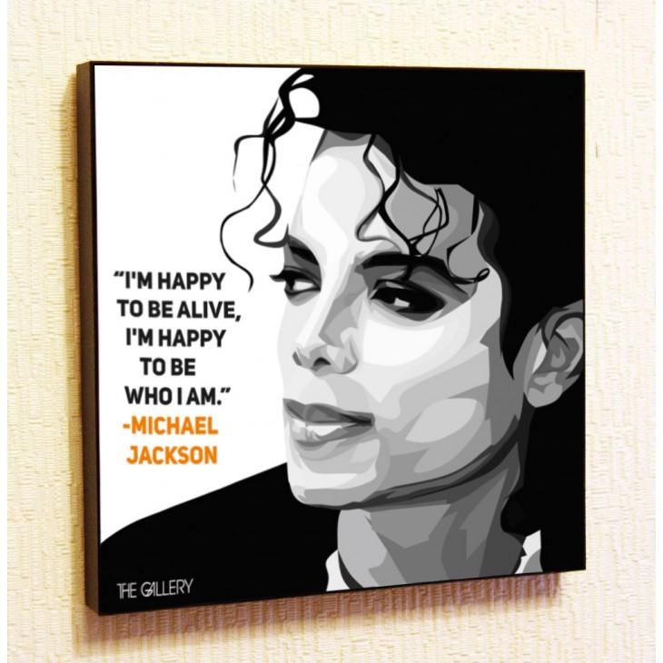 Картина постер в стиле поп-арт Майкл Джексон