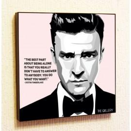 Картина постер в стиле поп-арт Джастин Тимберлейк