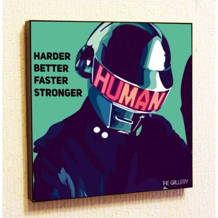 Картина постер в стиле поп-арт Duft Punk
