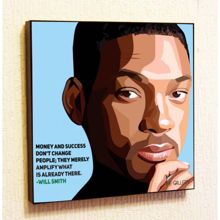 Картина постер в стиле поп-арт Уилл Смит