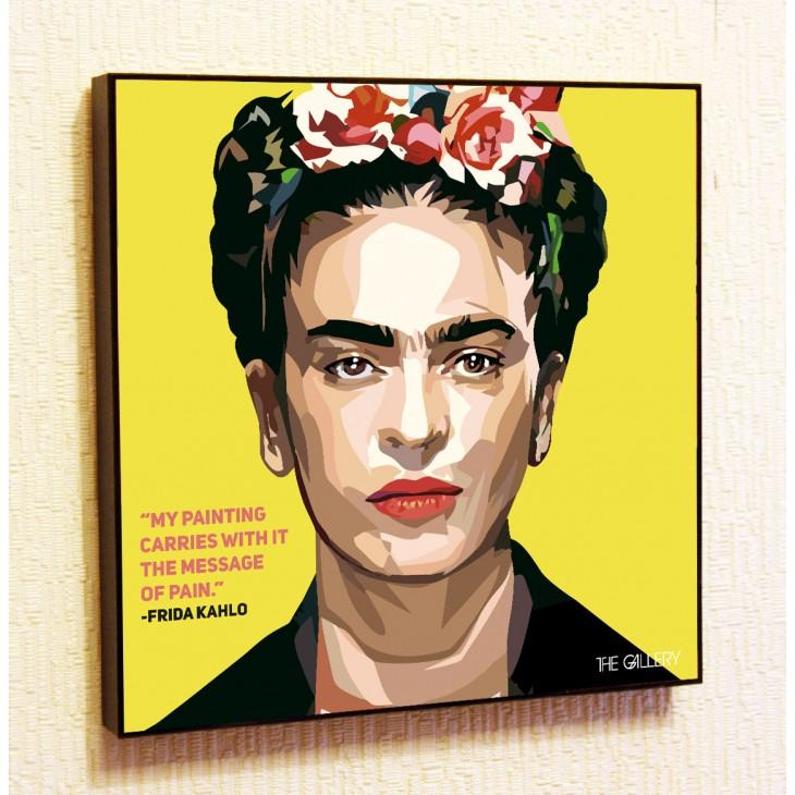 Картина постер в стиле поп-арт Фрида Кало