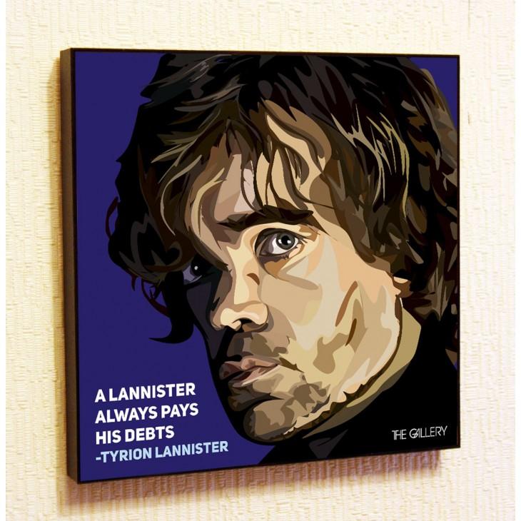 Картина постер в стиле поп-арт Тирион Ланнистер